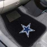 "Dallas Cowboys 2-piece Embroidered Car Mats 18""x27"""