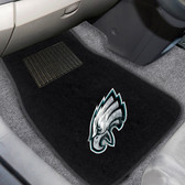 "Philadelphia Eagles 2-piece Embroidered Car Mats 18""x27"""
