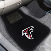 "Atlanta Falcons 2-piece Embroidered Car Mats 18""x27"""