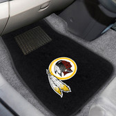 "Washington Redskins 2-piece Embroidered Car Mats 18""x27"""