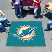 Miami Dolphins Tailgater Rug 5'x6'