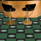 "New York Jets Carpet Tiles 18""x18"" tiles"