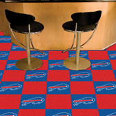 "Buffalo Bills Carpet Tiles 18""x18"" tiles"