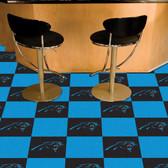 """Carolina Panthers Carpet Tiles 18""""x18"""" tiles"""