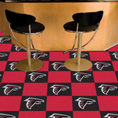 "Atlanta Falcons Carpet Tiles 18""x18"" tiles"