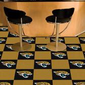 "Jacksonville Jaguars Carpet Tiles 18""x18"" tiles"
