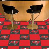"""Tampa Bay Buccaneers Carpet Tiles 18""""x18"""" tiles"""