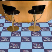 "Tennessee Titans Carpet Tiles 18""x18"" tiles"