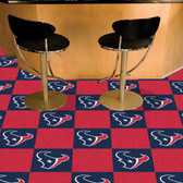 "Houston Texans Carpet Tiles 18""x18"" tiles"
