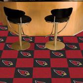 """Arizona Cardinals Carpet Tiles 18""""x18"""" tiles"""
