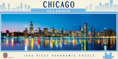 Chicago 1000 Piece Panoramic Puzzle