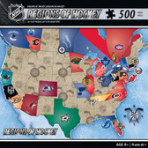 NHL USA Map Puzzle