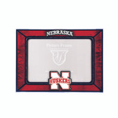 Nebraska Cornhuskers  2015 Art Glass Frame