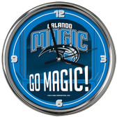 Orlando Magic Go Team! Chrome Clock
