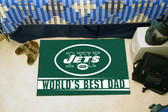 "New York Jets Worlds Best Dad Starter Rug 19""x30"""