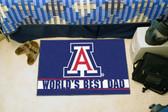 """Arizona Wildcats Worlds Best Dad Starter Rug 19""""x30"""""""