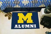 "Michigan Wolverines Alumni Starter Rug 19""x30"""
