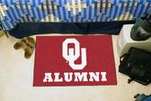 "Oklahoma Sooners Alumni Starter Rug 19""x30"""