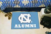 """North Carolina Tar Heels Alumni Starter Rug 19""""x30"""""""