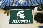 "Michigan State Spartans Alumni Starter Rug 19""x30"""