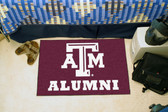 "Texas A&M Aggies Alumni Starter Rug 19""x30"""