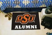 "Oklahoma State Cowboys Alumni Starter Rug 19""x30"""