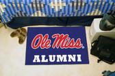 """Ole Miss Rebels Alumni Starter Rug 19""""x30"""""""