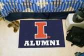 "Illinois Fighting Illini Alumni Starter Rug 19""x30"""