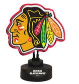 Chicago Blackhawks Team Logo Neon Lamp