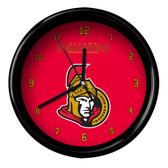 Ottawa Senators Black Rim Clock - Basic