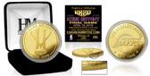 "Los Angeles Lakers Kobe Bryant ""Final Season"" Gold Mint Coin"