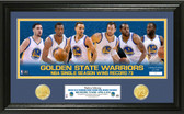 "Golden State Warriors 73 Win Record ""Team Force"" Pano Photo Mint"