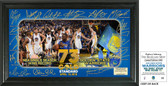 "Golden State Warriors 73 Win Record ""Signature Celebration"" Framed Photo"