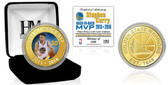 "Stephen Curry ""Back to Back MVP"" Bronze Color Coin"