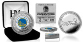 Golden State Warriors 2016 NBA Western Conference Champions Silver Mint Coin