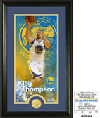 Golden State Warriors Klay Thompson Supreme Bronze Coin Photo Mint