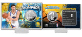 Golden State Warriors Klay Thompson Silver Coin Card