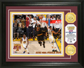 "Cleveland Cavaliers 2016 NBA Finals ""MVP"" Bronze Coin Photo Mint"