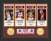 Cleveland Cavaliers 2016 NBA Finals Champions Ticket Collection