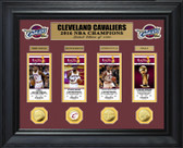Cleveland Cavaliers 2016 NBA Finals Champions Deluxe Gold Coin & Ticket Collection