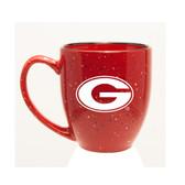 Georgia Bulldogs 15 oz. Deep Etched Red Bistro Mug