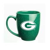 Georgia Bulldogs 15 oz. Deep Etched Green Bistro Mug