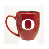 Oregon Ducks 15 oz. Deep Etched  Red Bistro Mug