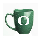 Oregon Ducks 15 oz. Deep Etched Green Bistro Mug
