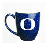 Oregon Ducks 15 oz. Deep Etched Cobalt Bistro Mug