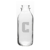 Columbia University 33.5 oz. Deep Etched Milk Bottle