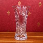 Columbia University 11.75 inch Deep Etched Cristal D'Arques Vase