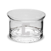 Columbia University 5 Inch Deep Etched Flair Crystal Candy Bowl