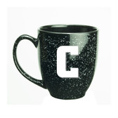 Columbia University 15 oz. Deep Etched Black Bistro Mug