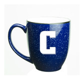 Columbia University 15 oz. Deep Etched Cobalt Bistro Mug